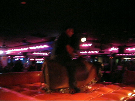 Mikey Ridin' The Bull