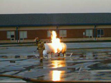 Live Propane Burn Training