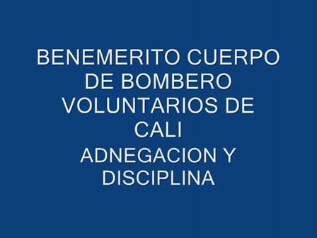 BOMBEROS CALI