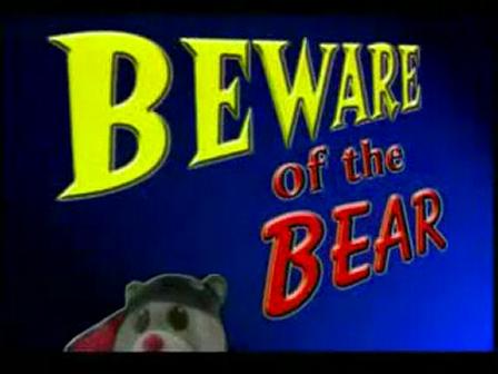 Erschreckender-Teddybaer