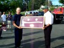 volunteer firefighter Fran Malnati 50 years service to Richmond, MA