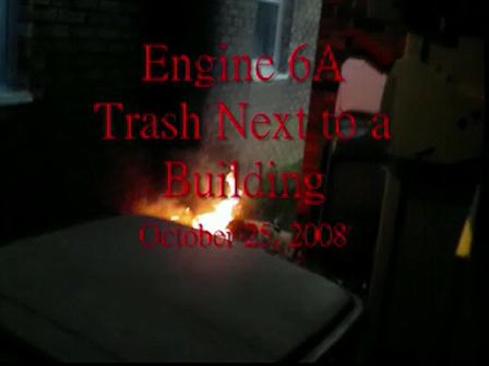 Roseneath 2nd Ave Trash Fire
