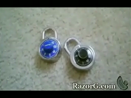HOW TO GET IN A Combo Lock