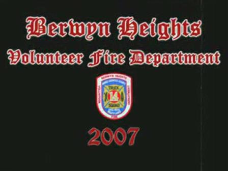 Berwyn Heights VFD 2007