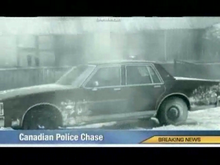 Canadian Police pursuit