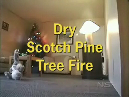 NIST christmas-tree-fire test