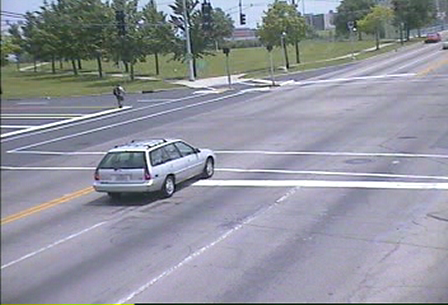 red light camera footage