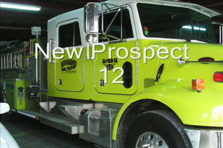 NP-12 responding to field fire