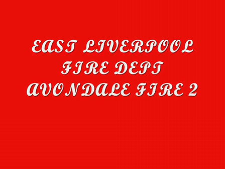 EAST LIVERPOOL FIRE DEPT. AVONDALE FIRE 2