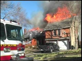 Frontier House Fire Footage