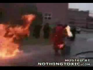 World's Worst Firefighter