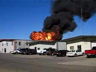 Wylie Propane Plant Fire