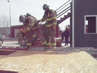 CLCFD Roof Ventilation Cuts - Skills & Drills Training