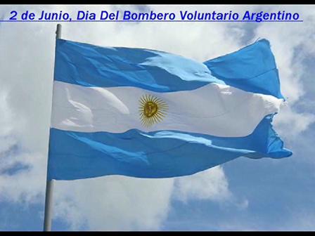 2 de junio Dia del Bombero Voluntario Argentino