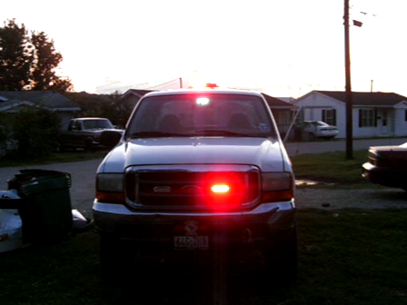 my truck with my new LEDS