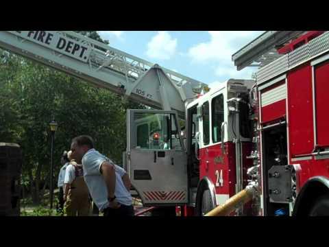 Charlotte (NC) 2-Alarm Fire