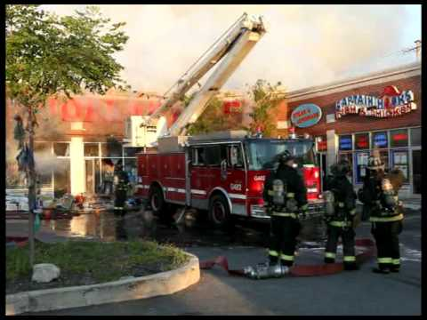 Chicago 3-11 Fire In A Dollar Store With Radio Traffic