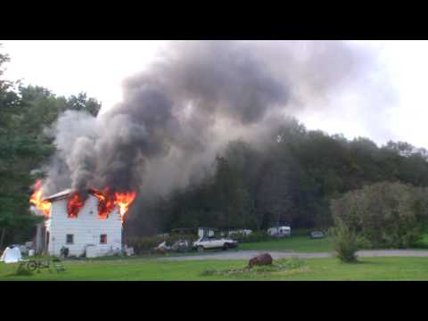 Willseyville (NY) Structure Fire