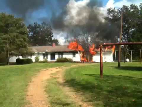 Bystander First Arriving at House Fire