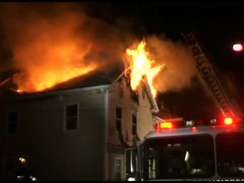 Marlborough (MA) 3-Alarm Fire