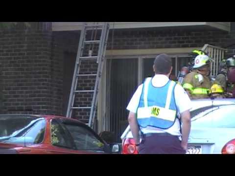 Whitehall Apartment Fire 10-1-09