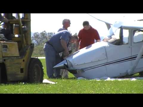 Forks Twp Plane Crash 10-6-09