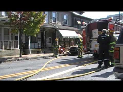 City of Easton Basement Fire 10-11-09