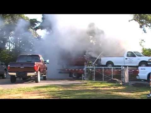 Lower Nazareth Car Fire 10-10-09