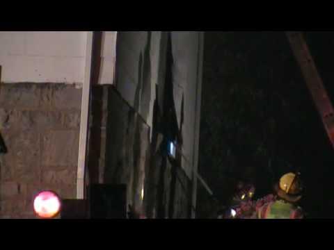 East Allen Barn Fire 10-14-09