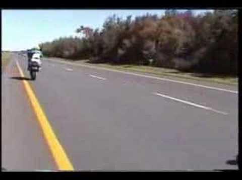 Yamaha R1 bike Crash plessisville