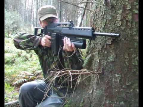 ICS M4 PARA, SYSTEMA M16A2, POW AIRSOFT