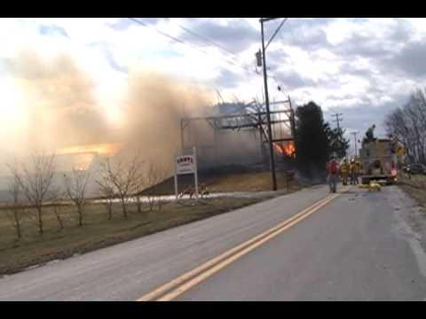 Forks Twp Barn Fire