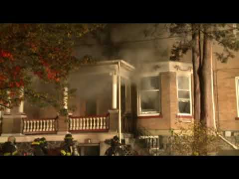 Basement fire goes to 3-alarms in Allentown, PA