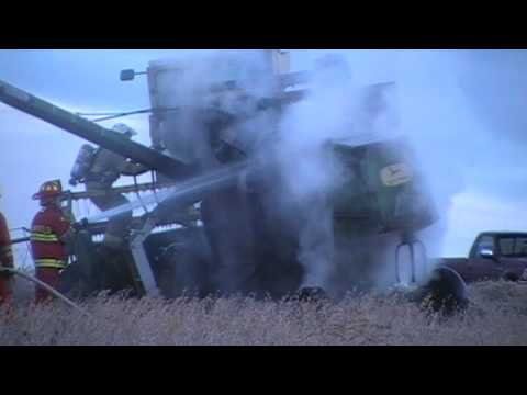 Plainfield Twp Combine Fire 11-2-09