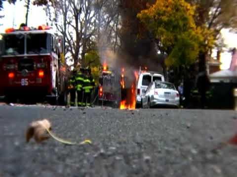 Staten Island Van Fire