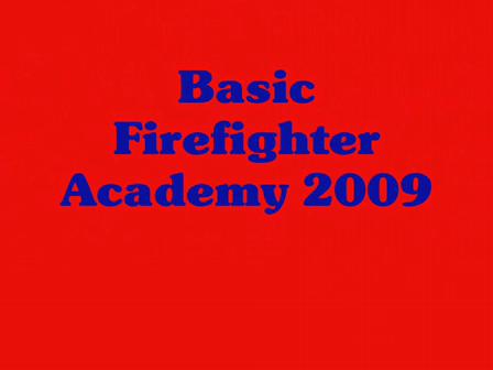 Pend Oreille County Recruit Academy