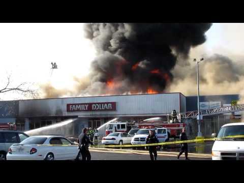 Rochester, NY 5-Alarm Blaze