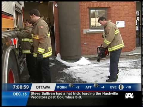 Ottawa Firefighters Saved a Brother