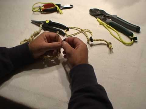 PART 2 - RIGGING AND STORING A CUTTING TOOL FOR ENTANGLEMENT EMERGENCIES