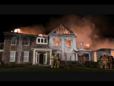 Baltimore Cnty (MD) Mansion Fire