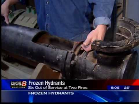Water Co. Helps Fight Frozen Hydrants