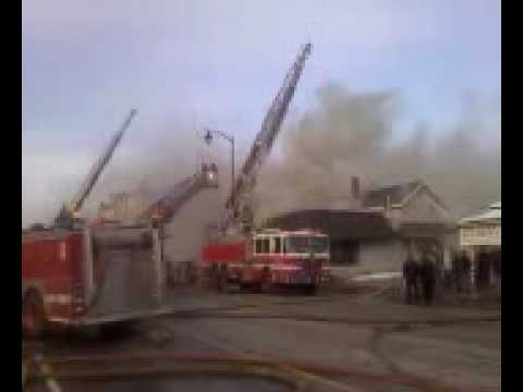 Rochester NY Second Alarm Fire 1/14/10