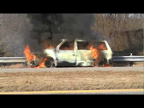 Lower Saucon Vehicle Fire 1-23-10