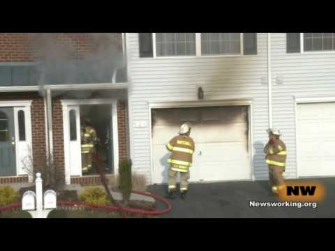 Whitehall (PA) Townhome Fire