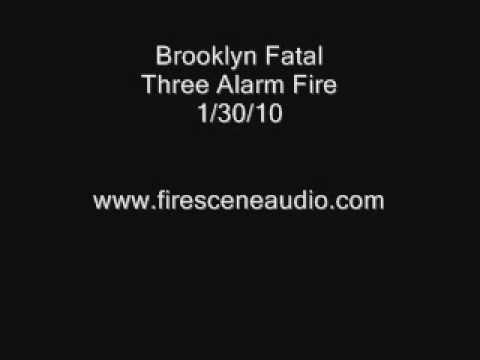 FDNY Three Alarm Fatal Fire on 86th St 1/30/10