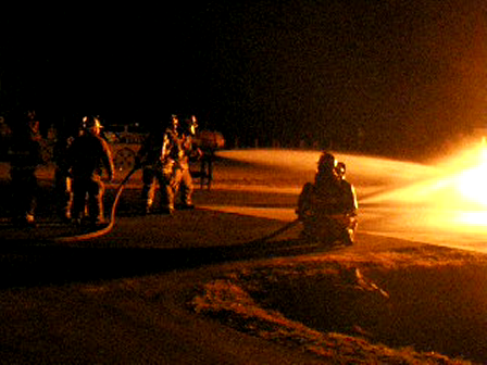 Multicompany Attack on Pit Fire