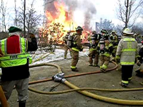 Greenfield (NH) House Fire