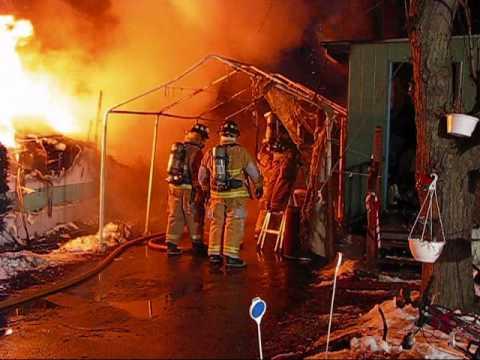 Colchester (VT) Trailer Fire