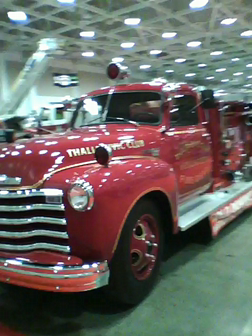 Old Chevy at the Virginia Beach 2010 Fire Expo.
