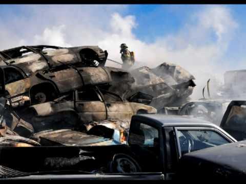 Canada Junkyard Fire